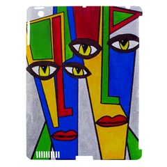 Face Apple Ipad 3/4 Hardshell Case (compatible With Smart Cover)