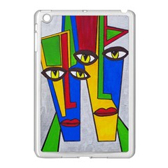 Face Apple iPad Mini Case (White)