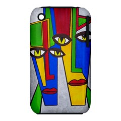 Face Apple iPhone 3G/3GS Hardshell Case (PC+Silicone)