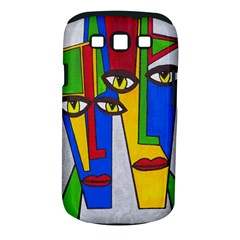 Face Samsung Galaxy S III Classic Hardshell Case (PC+Silicone)