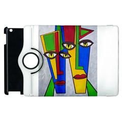 Face Apple Ipad 2 Flip 360 Case