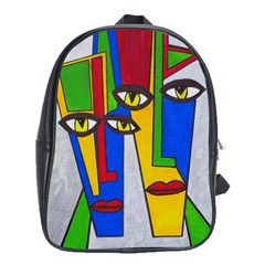 Face School Bag (XL)