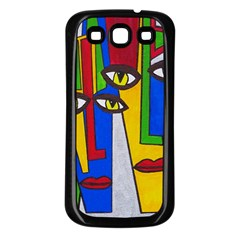 Face Samsung Galaxy S3 Back Case (black)
