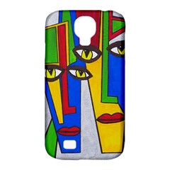 Face Samsung Galaxy S4 Classic Hardshell Case (PC+Silicone)