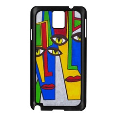 Face Samsung Galaxy Note 3 N9005 Case (black)