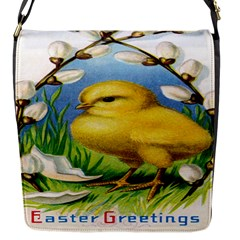 Victorian Easter Flap Closure Messenger Bag (Small)