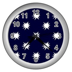 Bursting in Air Wall Clock (Silver)