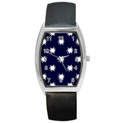 Bursting in Air Tonneau Leather Watch