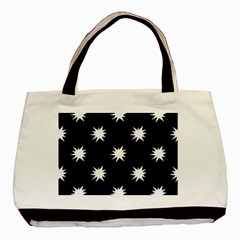 Bursting in Air Twin-sided Black Tote Bag