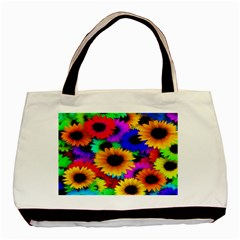 Colorful Sunflowers Classic Tote Bag