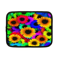 Colorful Sunflowers Netbook Sleeve (small)