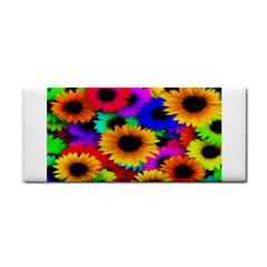 Colorful Sunflowers Hand Towel