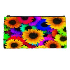 Colorful Sunflowers Pencil Case