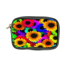 Colorful Sunflowers Coin Purse