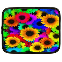 Colorful Sunflowers Netbook Sleeve (XXL)