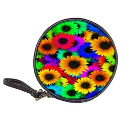 Colorful Sunflowers CD Wallet