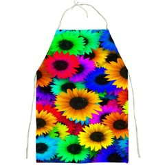 Colorful Sunflowers Apron