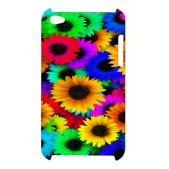 Colorful Sunflowers Apple iPod Touch 4G Hardshell Case