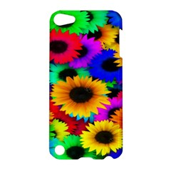 Colorful Sunflowers Apple iPod Touch 5 Hardshell Case