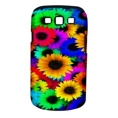 Colorful Sunflowers Samsung Galaxy S III Classic Hardshell Case (PC+Silicone)