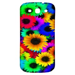 Colorful Sunflowers Samsung Galaxy S3 S III Classic Hardshell Back Case