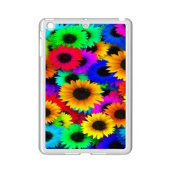 Colorful Sunflowers Apple Ipad Mini 2 Case (white)