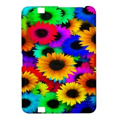 Colorful Sunflowers Kindle Fire HD 8.9  Hardshell Case