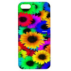 Colorful Sunflowers Apple iPhone 5 Hardshell Case with Stand