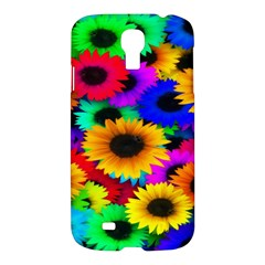 Colorful Sunflowers Samsung Galaxy S4 I9500/I9505 Hardshell Case