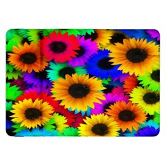 Colorful Sunflowers Samsung Galaxy Tab 8 9  P7300 Flip Case