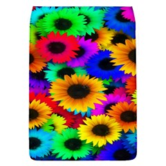 Colorful Sunflowers Removable Flap Cover (Large)