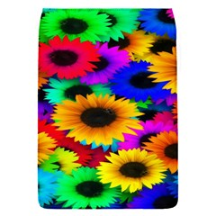 Colorful Sunflowers Removable Flap Cover (small)