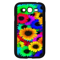Colorful Sunflowers Samsung Galaxy Grand Duos I9082 Case (black)