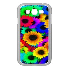 Colorful Sunflowers Samsung Galaxy Grand Duos I9082 Case (white)