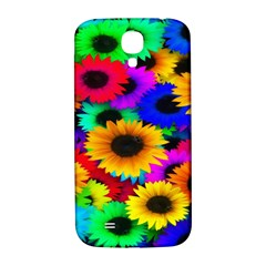 Colorful Sunflowers Samsung Galaxy S4 I9500/I9505  Hardshell Back Case