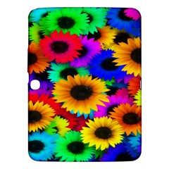 Colorful Sunflowers Samsung Galaxy Tab 3 (10.1 ) P5200 Hardshell Case