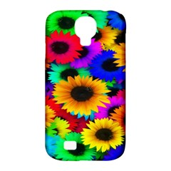 Colorful Sunflowers Samsung Galaxy S4 Classic Hardshell Case (PC+Silicone)