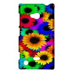 Colorful Sunflowers Nokia Lumia 720 Hardshell Case