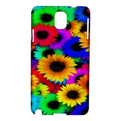 Colorful Sunflowers Samsung Galaxy Note 3 N9005 Hardshell Case