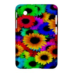Colorful Sunflowers Samsung Galaxy Tab 2 (7 ) P3100 Hardshell Case