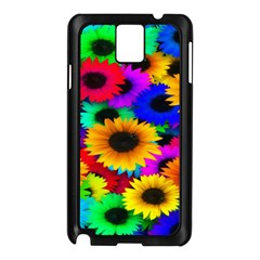 Colorful Sunflowers Samsung Galaxy Note 3 N9005 Case (black)