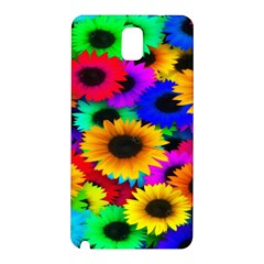 Colorful Sunflowers Samsung Galaxy Note 3 N9005 Hardshell Back Case