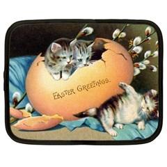 Vintage Easter Netbook Sleeve (XL)