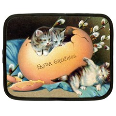 Vintage Easter Netbook Sleeve (XXL)