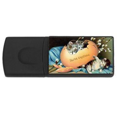 Vintage Easter 1GB USB Flash Drive (Rectangle)