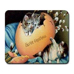 Vintage Easter Large Mouse Pad (Rectangle)