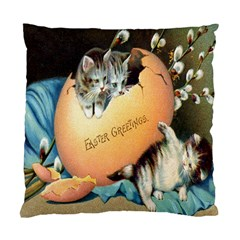 Vintage Easter Cushion Case (Single Sided)