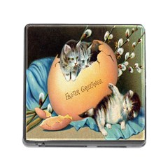 Vintage Easter Memory Card Reader with Storage (Square)