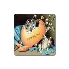 Vintage Easter Magnet (Square)