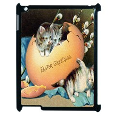 Vintage Easter Apple iPad 2 Case (Black)